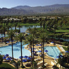 The pool scene is happening at JW Marriott Desert Springs Resort and Spa.