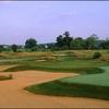 A view of green #13 at Raspberry Falls Golf & Hunt Club