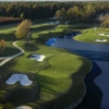 Aerial view from Yorktown Course (courtesy of Williamsburg National Golf Club, Golf Shots Unlimited 2006)