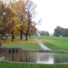 A view of the 5th hole at Silver Lake Golf Course