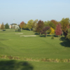 A fall view from Hickory Point Golf Course