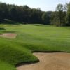A view of green #17 at Virtues Golf Club