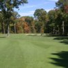 A view of the 3rd hole at Gilead Highlands from Blackledge Country Club