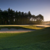 A sunny view of the 8th hole at Old Marsh Country Club