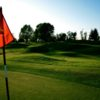 A sunny view from green at Wildhawk Golf Club