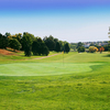 A view of green #18 at Valley Hi Municipal Golf Course
