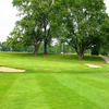 A view of green #18 at Vassar Golf & Country Club