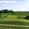 A view of the 18th green at Tiffany Greens Golf Club
