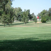 A view of green at Glen Lakes Golf Course