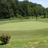 A view of hole #5 at Hidden Hills Golf Course