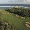 Palmer Course at Turtle Bay - Aerial view of the 17th hole
