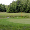 A view of hole #8 at Sag Hollow Golf Club