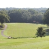 A view of a fairway and a green at Griffin City Golf Course