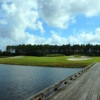 Playing almost 200 yards from the tips, the par-3 16th at Venetian Bay Golf Club can be intimidating.