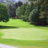 A view of the 5th green at Delgany Golf Club