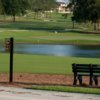 A view of the 5th tee sign at Ocala Golf Club