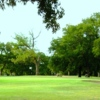 A view of hole #13 at San Saba River Golf Course