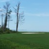 A view of fairway #6 at Bay Course from Bluewater Bay Resort