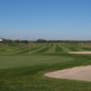 View of the 15th green at Twin Willows Golf Club