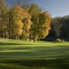 Autumn view of a hole at Crossgates Golf Course