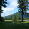 A view from tee #14 at Enumclaw Golf Course