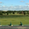 A view of the driving range at Elliot Golf Course