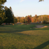 A view from fairway #18 with the green in distance at Cumberland Golf Club