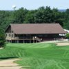 A view of the clubhouse at Waushara Country Club