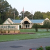 A view of the clubhouse at Great Hope Golf Course