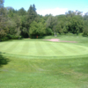 A view of the 4th green at Lyndebrook Golf Course