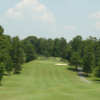 A view of fairway #15 at Oak Hollow Golf Course