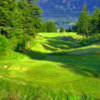Skamania Lodge #4: One of the course signature holes. Beware of the infamous Columbia Gorge winds that will blow your shot offline. A strong drive will clear the hazards, but a smart play is to lay back even with the large tree, 150 yards from the green.
