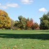 A fall view of a fairway at Erskine Park Golf Club
