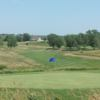A view of a green at Prairie Hills Golf Course