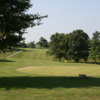 View of a green at Lincoln Homestead State Park
