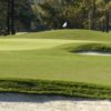A view of a green at Dogwood Trace Golf Course