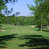 A view of a tee at Oak Mountain State Park Golf Course