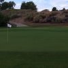 A view of the 7th green at Blythe Golf Course