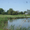 View of the clubhouse at Spuyten Duyval Golf Club