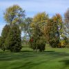 View of the 9th green from the East Course at Spuyten Duyval Golf Club