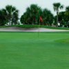 A view of a green at Southwinds Golf Course
