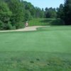 A view of a green at Kingswood Golf Club