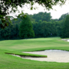 A view of a green protected by bunkers at Santa Maria Golf Club (BREC)