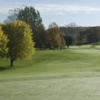 A view of a hole and a fairway at Little Crow Country Club