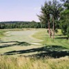 A view of the 18th hole at Regents' Glen Country Club