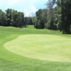 A view of a green at Fox Prairie Golf Course