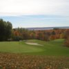 A view of the 7th green at Little Traverse Bay Golf Club