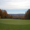 A view of hole #18 at Little Traverse Bay Golf Club