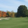 A view from the 12th fairway at Little Traverse Bay Golf Club
