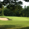 A view of a green at Tanglewood Golf Club